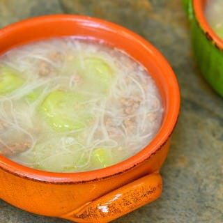 Miswa at Patola Soup