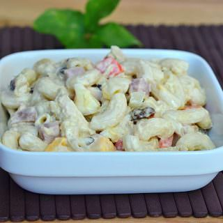 Filipino-style Macaroni Salad