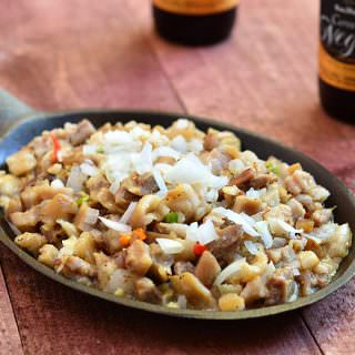 Sizzling Sisig is popular as a party appetizer as well as a hearty dinner entree. The perfect blend of tangy and spicy, it has all the bold, delicious flavors you love!