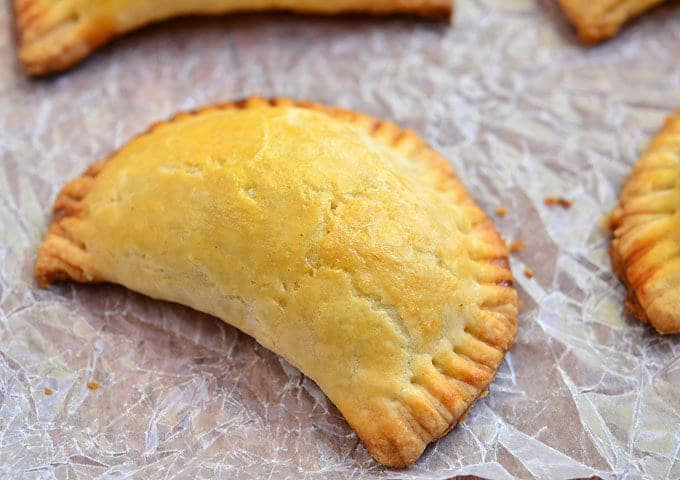 filipino empanada with ground beef