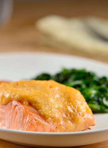 Salmon with Sweet Chili-Mayo Sauce