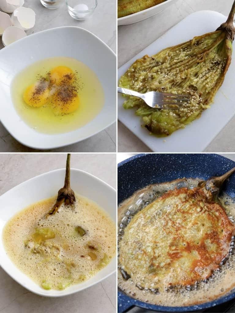 Tortang Talong (Filipino-style Omelet) - Kawaling Pinoy