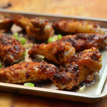 Honey Bagoong Chicken Wings