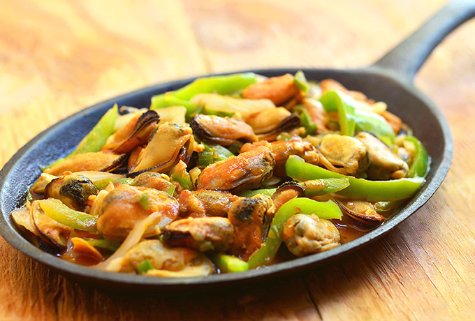 Spicy Tahong