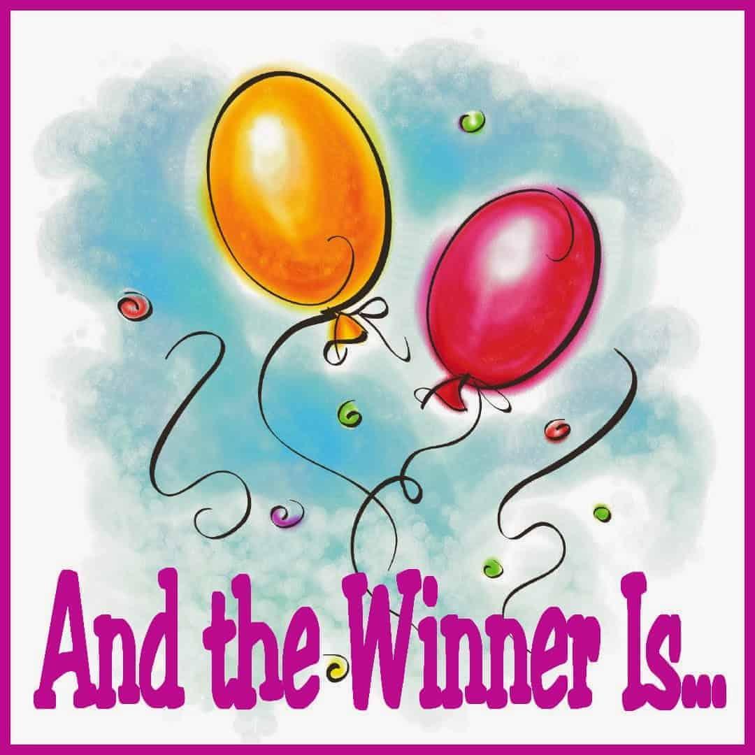 Giveaway Winner Banner
