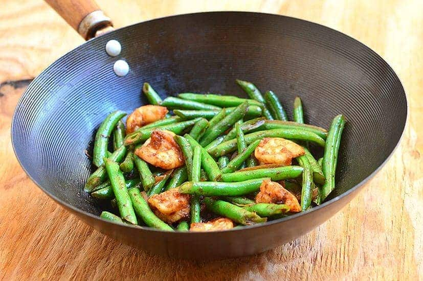 Green Bean and Shrimp Stir-fry