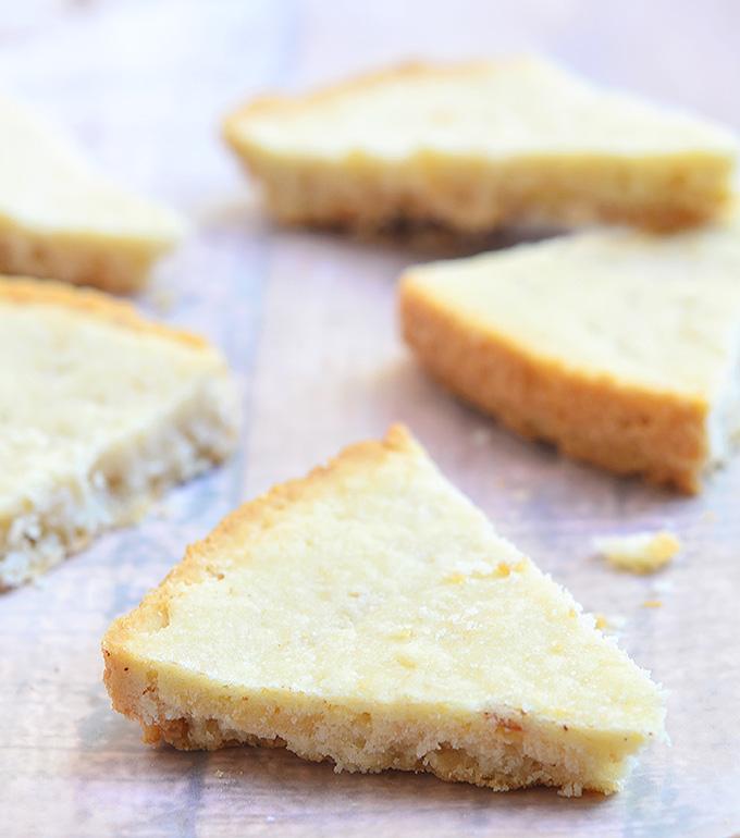 Pinipig Shortbread Cookies