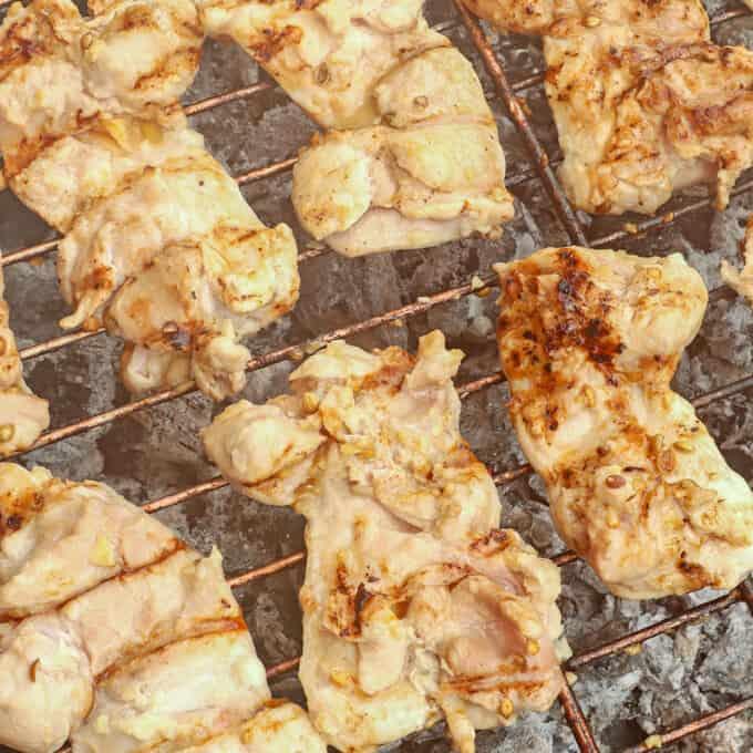 grilling chicken boneless chicken thighs