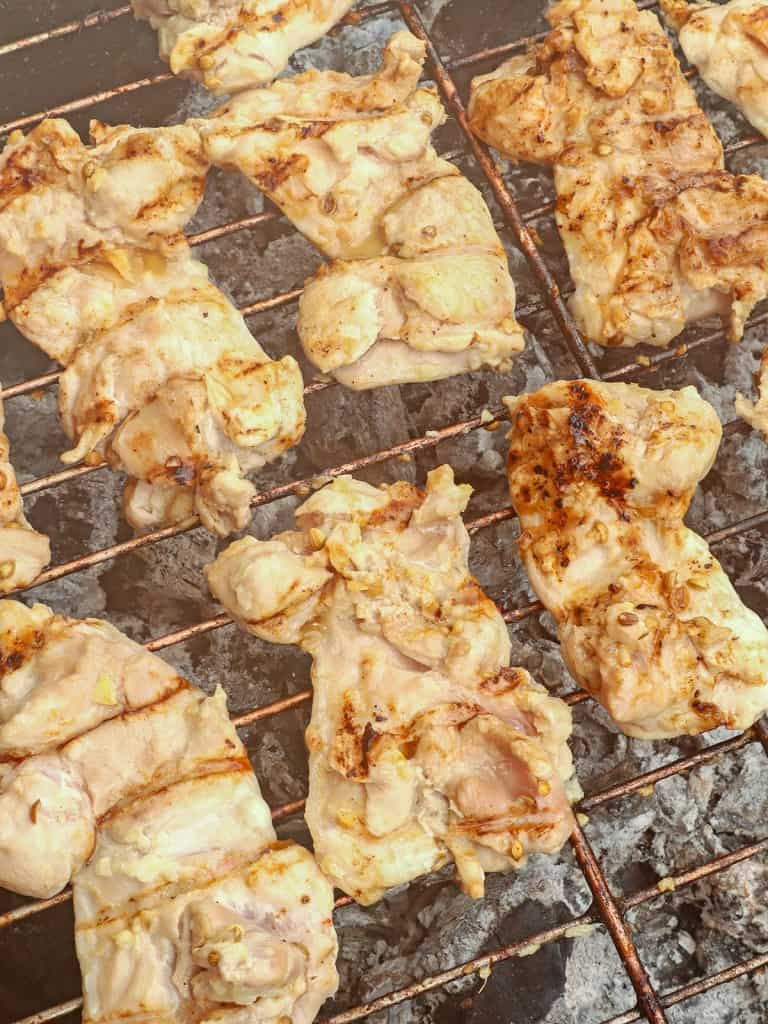 grilling chicken boneless chicken thighs