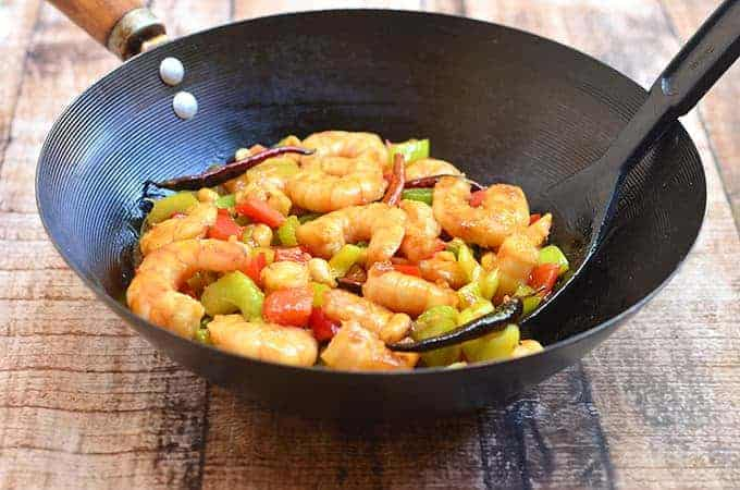 This Kung Pao Shrimp has big, bold flavors!