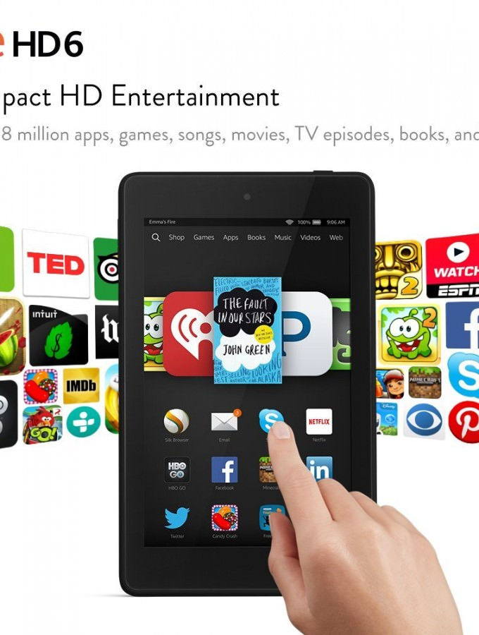 Fire HD 6 Tablet Giveaway