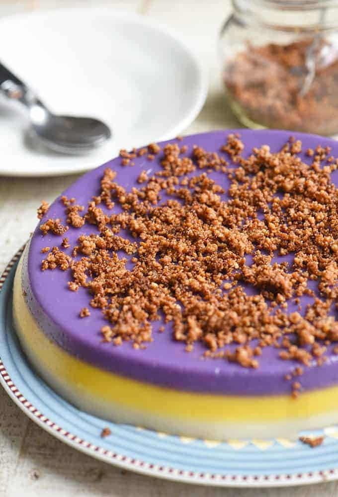 Sapin-Sapin with latik topping