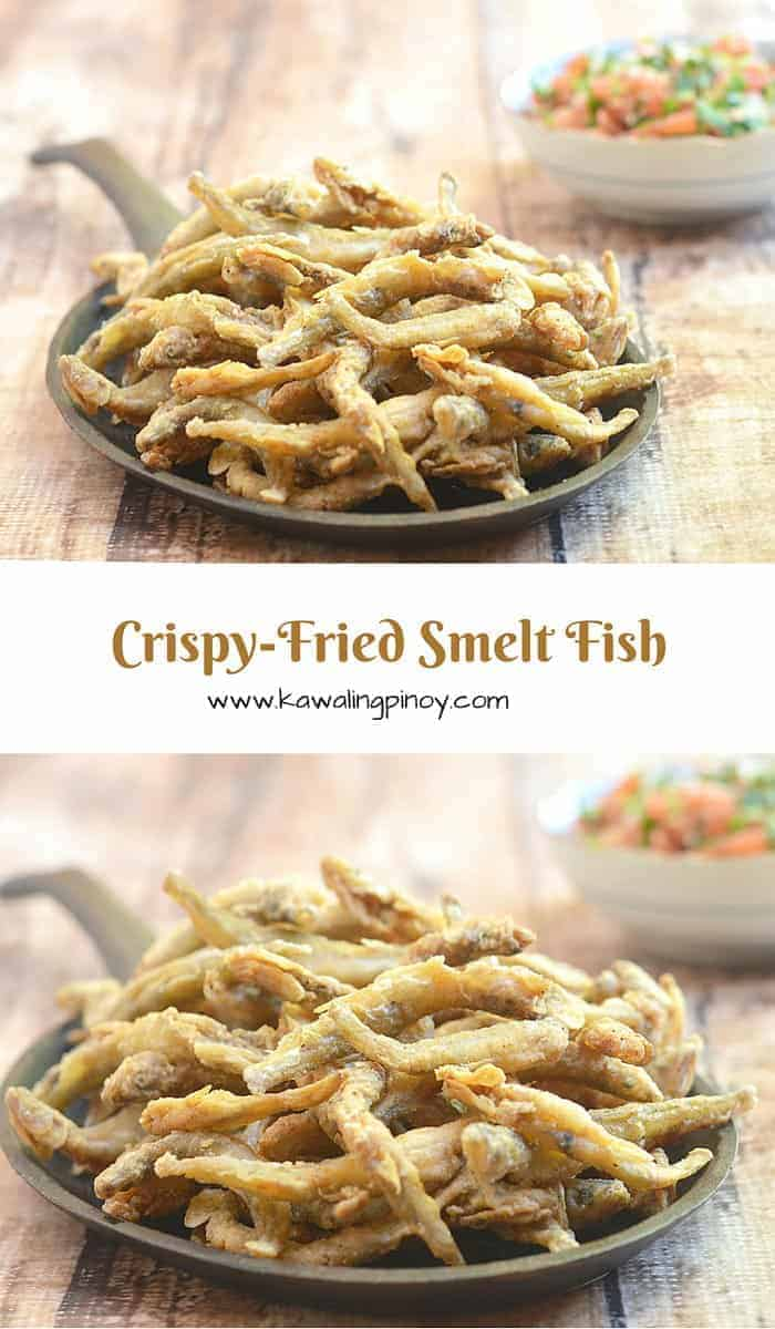 These crispy-fried Smelt fish are awesome as an appetizer but equally wonderful as complimenting side to vegetable dishes