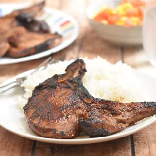 Toyomansi Pork Chops