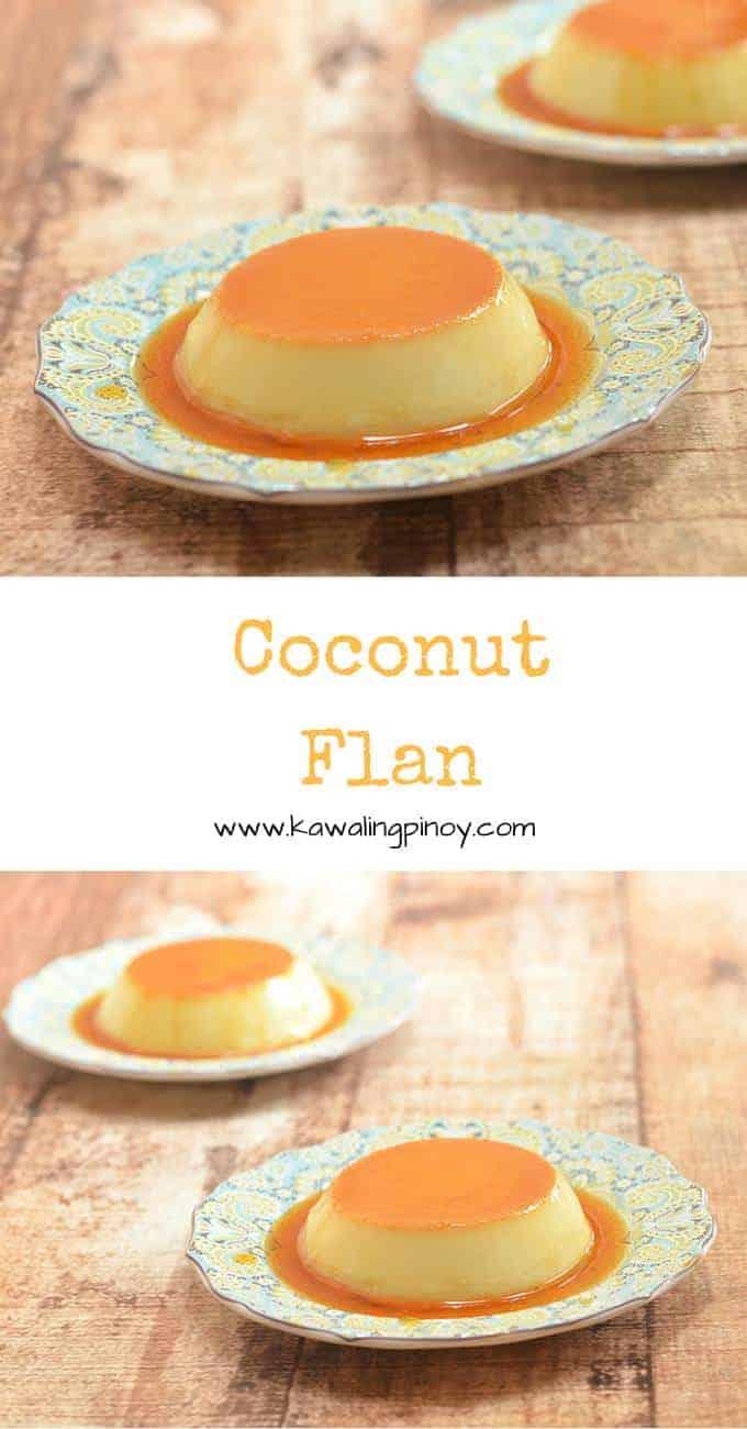 Coconut Flan - kawaling pinoy