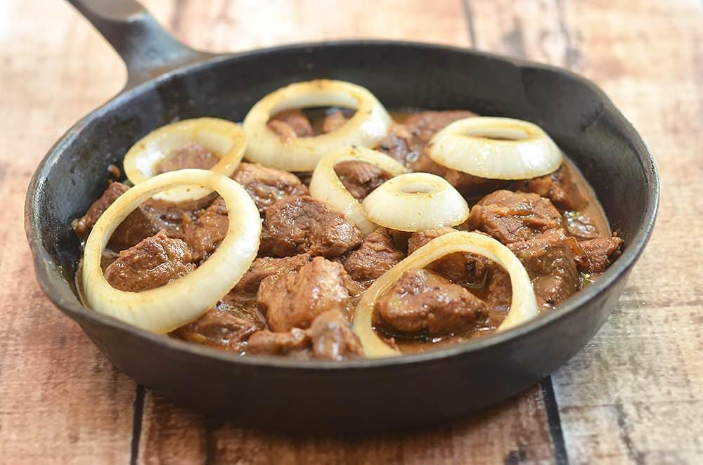 Pork Bistek Kawaling Pinoy