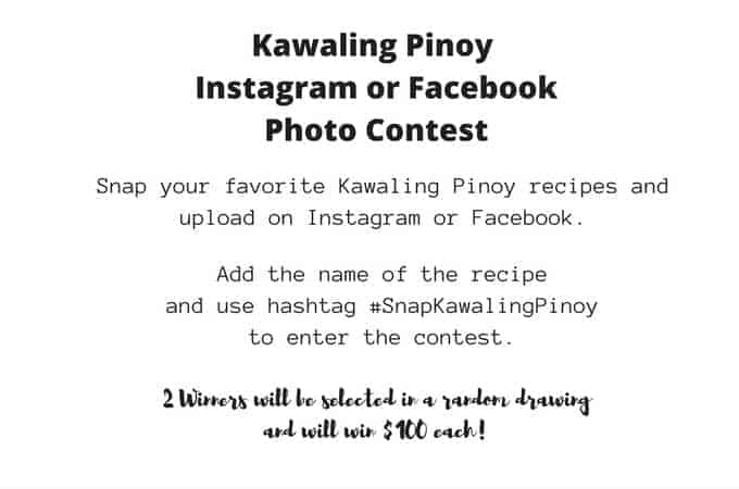 Kawaling Pinoy Photo Contest and July 2016 Monthly Income Report