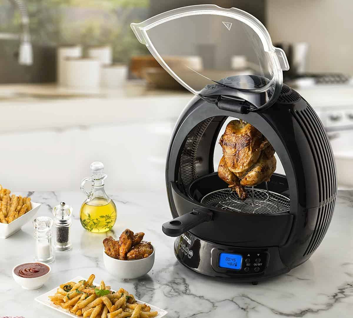 Gourmia 9 In 1 Air Fryer & Multicooker Giveaway + September 2016 Monthly Income Report