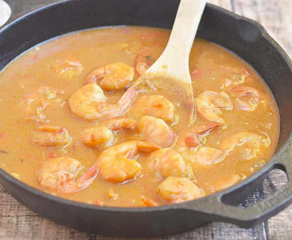 Shrimp Couvillion