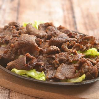 Korean BBQ Bulgogi made of thin beef slices marinated in a sweet and salty marinade and cooked to perfection over charcoal or tabletop griddle. This Asian BBQ beef is tender, flavorful, and delicious with steamed rice!