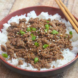 Korean Ground Beef