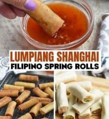 crispy and golden Lumpia Shanghai
