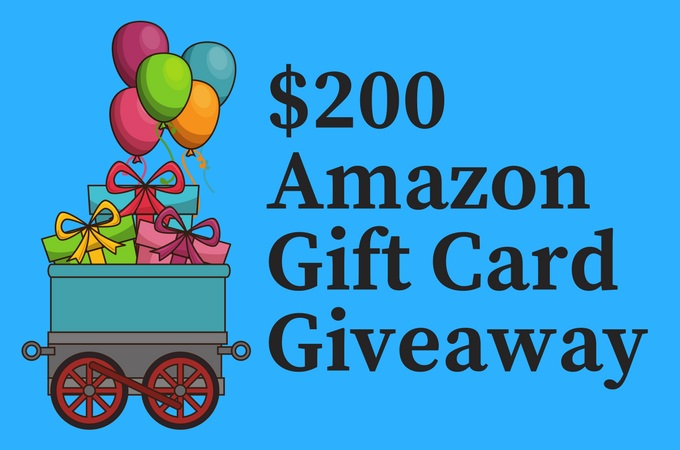 $200 Amazon Gift Card Giveaway and What's up With Kawaling Pinoy