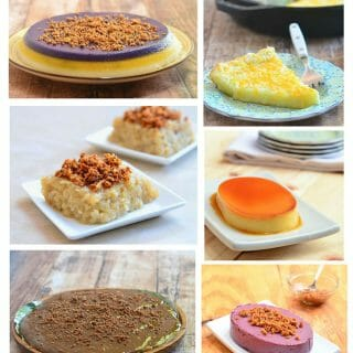Ten Filipino Desserts You Should Make for Christmas is a delicious list of popular Filipino desserts to enjoy these holidays. From cassava cake, sapin sapin to leche flan, you'll find a sweet treat for everyone!
