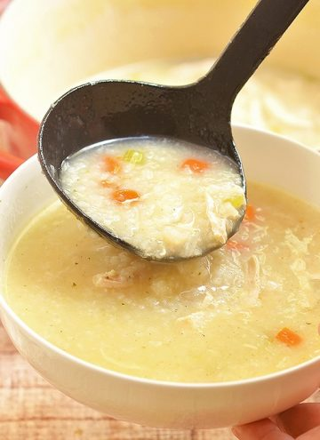 Chicken Rice Congee
