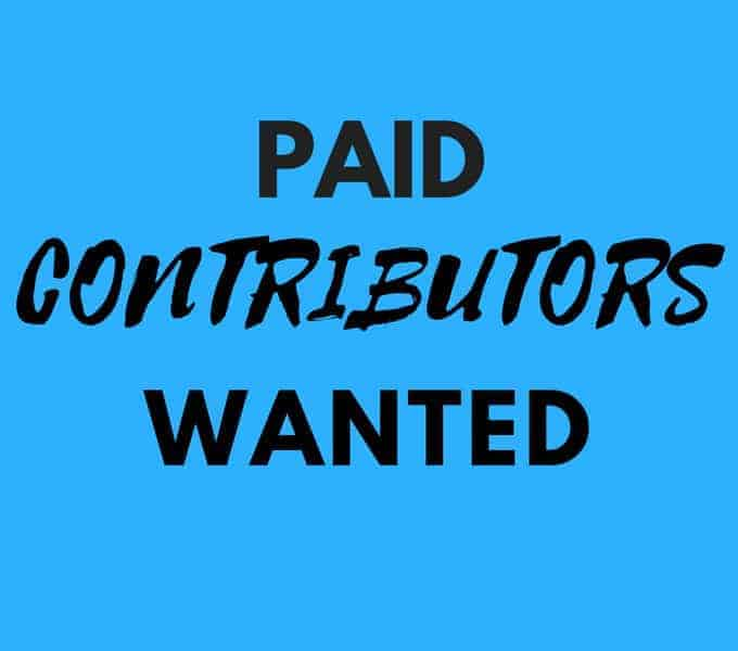 paid contributors wanted