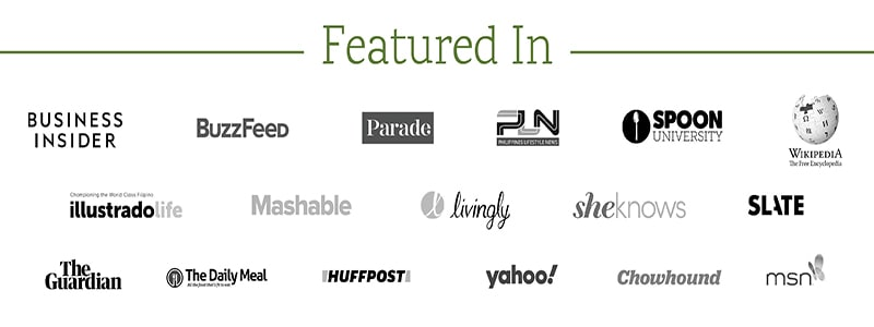 Logos of featured in places