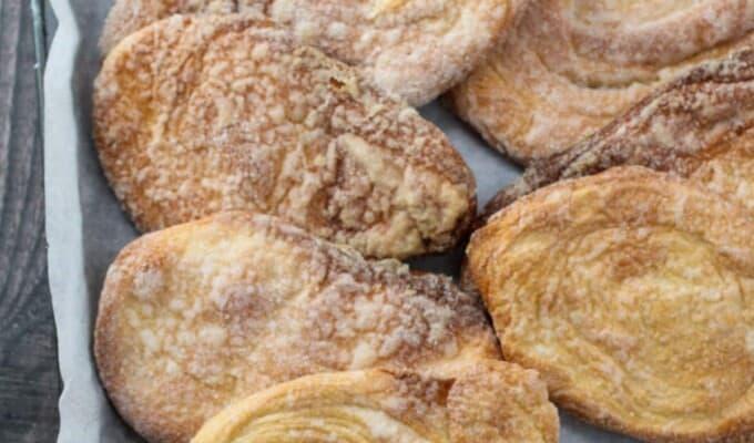 Otap cookies on a baking sheet