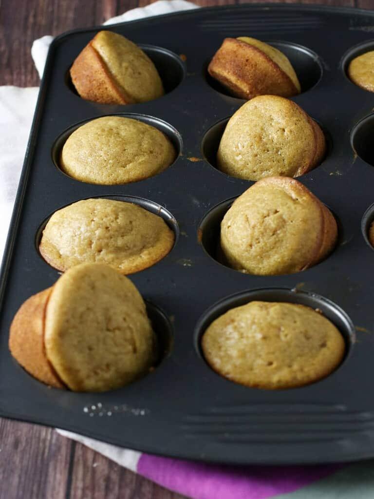 baked kababayan in a muffin tin