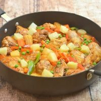 Pineapple Chicken Afritada
